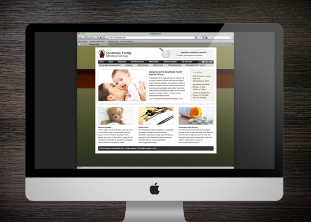Southside Family Medical Group Website